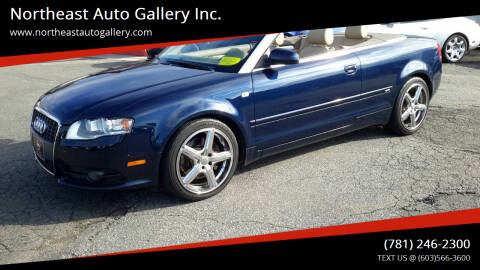 2009 Audi A4 for sale at Northeast Auto Gallery Inc. in Wakefield MA
