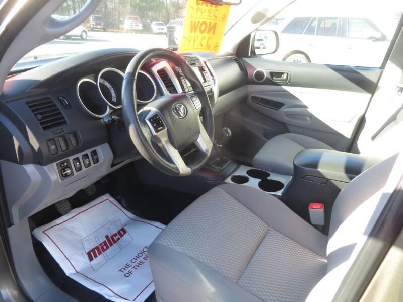 2013 Toyota Tacoma 4x4 V6 4dr Double Cab 5.0 ft SB 6M - Concord NH
