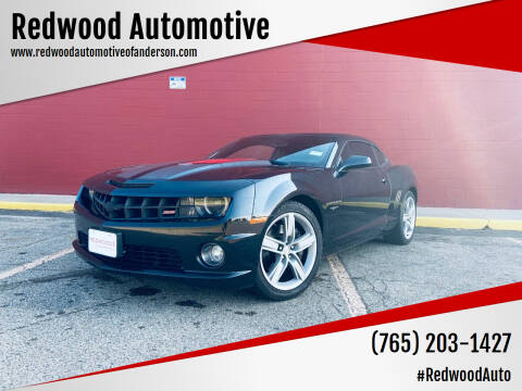2012 Chevrolet Camaro for sale at Redwood Automotive in Anderson IN