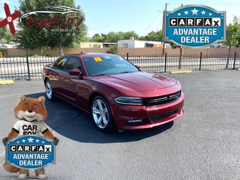 2018 Dodge Charger for sale at DUKE CITY AUTO SALES in Albuquerque NM