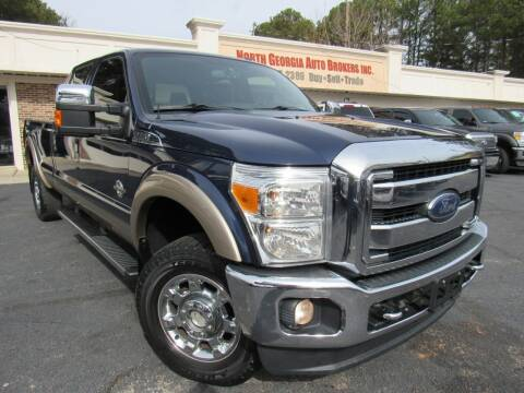 2013 Ford F-250 Super Duty for sale at North Georgia Auto Brokers in Snellville GA
