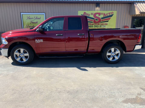 2019 RAM Ram Pickup 1500 Classic for sale at BIG 'S' AUTO & TRACTOR SALES in Blanchard OK