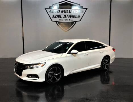 2018 Honda Accord for sale at Noel Daniels Motor Company in Ridgeland MS