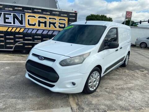 2014 Ford Transit Connect Cargo for sale at DOVENCARS CORP in Orlando FL