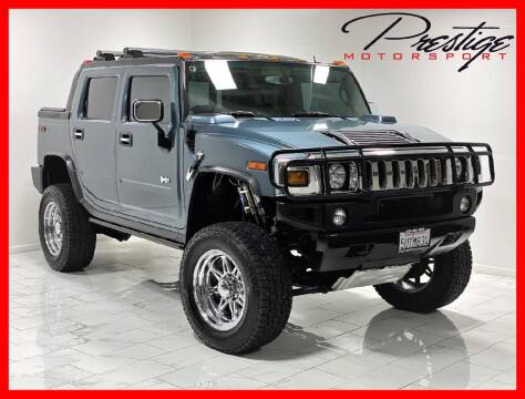 2005 HUMMER H2 SUT for sale at Prestige Motorsport in Rancho Cordova CA
