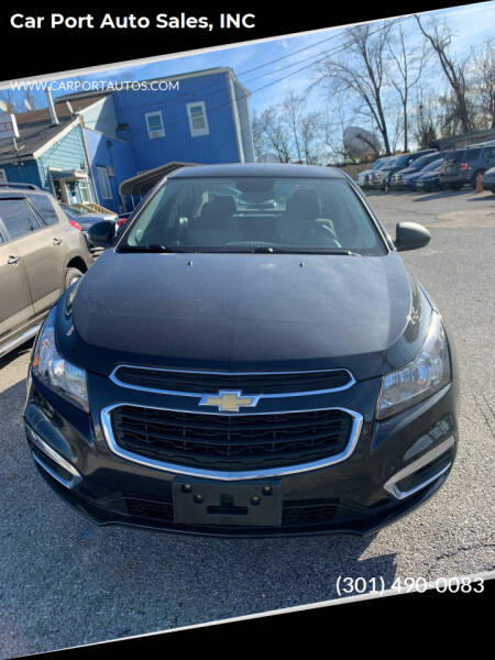 2016 Chevrolet Cruze Limited for sale at Car Port Auto Sales, INC in Laurel MD