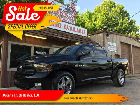 2010 Dodge Ram Pickup 1500 for sale at Oscar's Truck Center, LLC in Houston TX