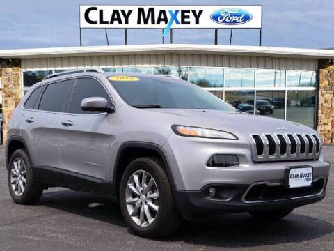 2018 Jeep Cherokee for sale at Clay Maxey Ford of Harrison in Harrison AR