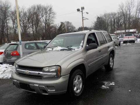 2002 Chevrolet TrailBlazer for sale at United Auto Land in Woodbury NJ