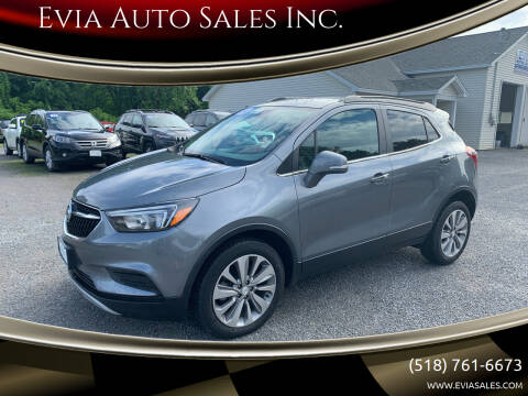 2019 Buick Encore for sale at Evia Auto Sales Inc. in Glens Falls NY