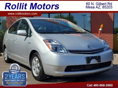 2007 Toyota Prius for sale at Rollit Motors in Mesa AZ