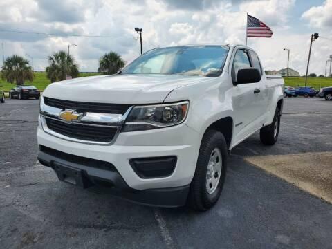 2016 Chevrolet Colorado for sale at Sun Coast City Auto Sales in Mobile AL