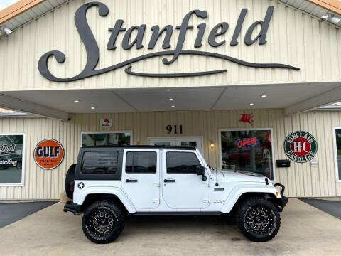 2018 Jeep Wrangler JK Unlimited for sale at Stanfield Auto Sales in Greenfield IN