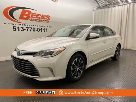 2018 Toyota Avalon Hybrid for sale at Becks Auto Group in Mason OH