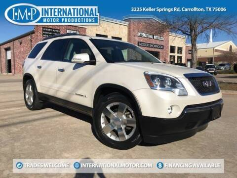 2008 GMC Acadia for sale at International Motor Productions in Carrollton TX