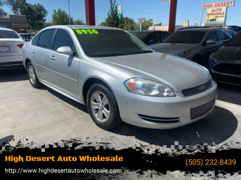 2015 Chevrolet Impala Limited for sale at High Desert Auto Wholesale in Albuquerque NM