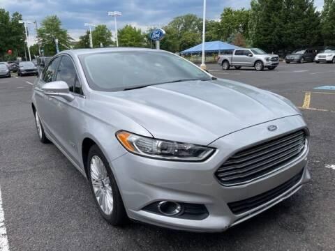 2016 Ford Fusion Energi for sale at CHAPMAN FORD NORTHEAST PHILADELPHIA in Philadelphia PA