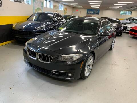 2014 BMW 5 Series for sale at Newton Automotive and Sales in Newton MA