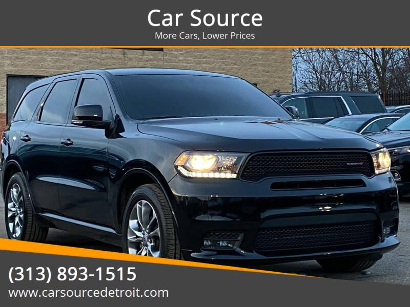 2019 Dodge Durango for sale at Car Source in Detroit MI