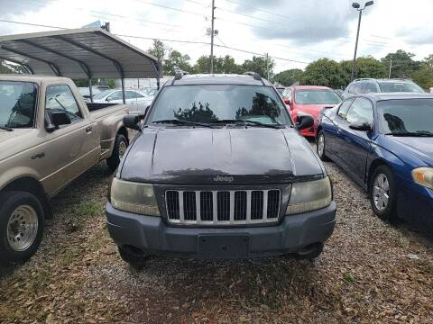 2004 Jeep Grand Cherokee for sale at Wally's Cars ,LLC. in Morehead City NC