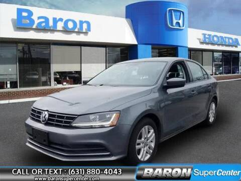 2018 Volkswagen Jetta for sale at Baron Super Center in Patchogue NY