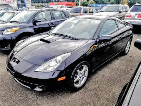 2000 Toyota Celica for sale at SS MOTORS LLC in Edmonds WA