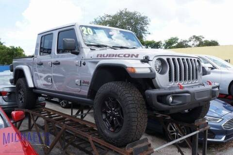 2020 Jeep Gladiator for sale at Michael's Auto Sales Corp in Hollywood FL