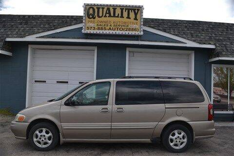 2004 Oldsmobile Silhouette for sale at Quality Pre-Owned Automotive in Cuba MO