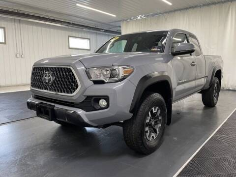 2019 Toyota Tacoma for sale at Monster Motors in Michigan Center MI