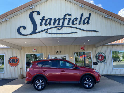 2017 Toyota RAV4 for sale at Stanfield Auto Sales in Greenfield IN