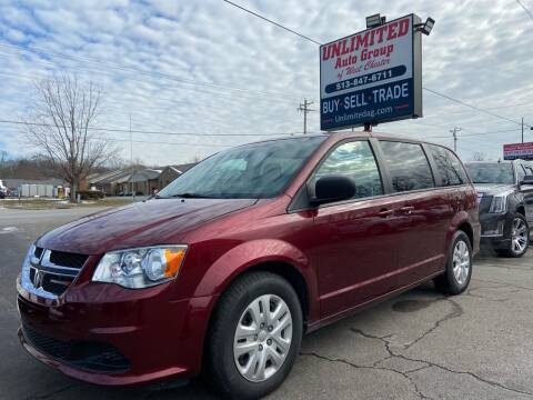 2018 Dodge Grand Caravan for sale at Unlimited Auto Group in West Chester OH