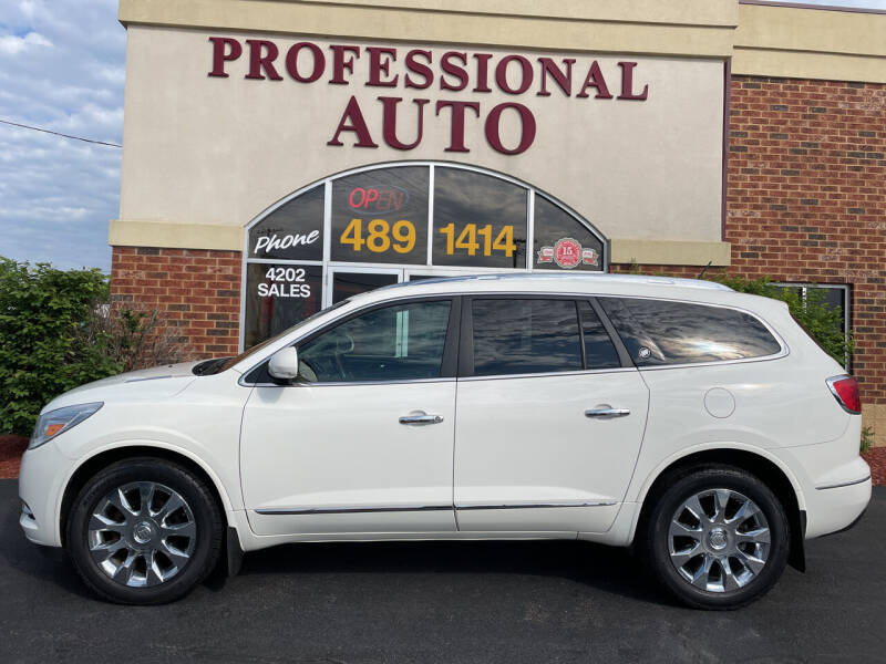 2013 Buick Enclave for sale at Professional Auto Sales & Service in Fort Wayne IN
