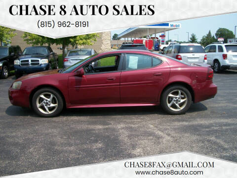 2004 Pontiac Grand Prix for sale at Chase 8 Auto Sales in Loves Park IL