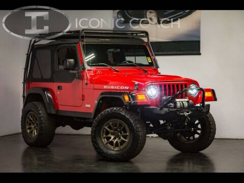 2006 Jeep Wrangler for sale at Iconic Coach in San Diego CA