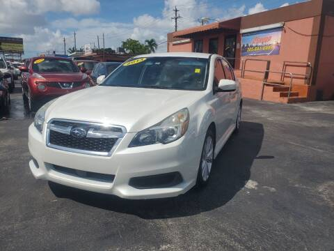 2013 Subaru Legacy for sale at A Group Auto Brokers LLc in Opa-Locka FL
