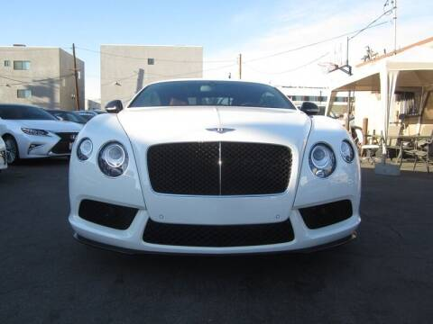 2014 Bentley Continental for sale at Win Motors Inc. in Los Angeles CA