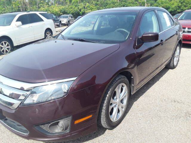 """2012 Ford Fusion for sale at Midwestern Auto Sales """"The Used Car Center"""" in Middletown OH"""
