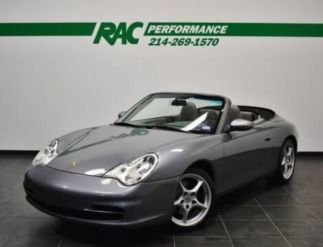 2003 Porsche 911 for sale at RAC Performance in Carrollton TX