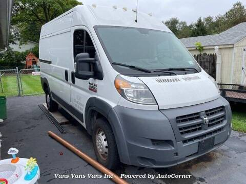 2015 RAM ProMaster Cargo for sale at Vans Vans Vans INC in Blauvelt NY