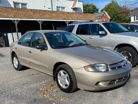 2004 Chevrolet Cavalier for sale at TNT Auto Sales in Bangor PA