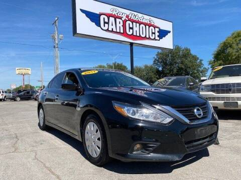 2017 Nissan Altima for sale at Ray Hibdon's Car Choice in Oklahoma City OK