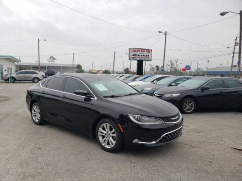 2016 Chrysler 200 for sale at Jamrock Auto Sales of Panama City in Panama City FL