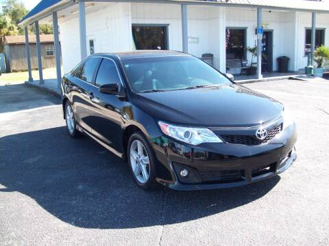 2012 Toyota Camry for sale at LONGSTREET AUTO in St Augustine FL