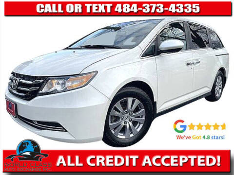 2016 Honda Odyssey for sale at World Class Auto Exchange in Lansdowne PA