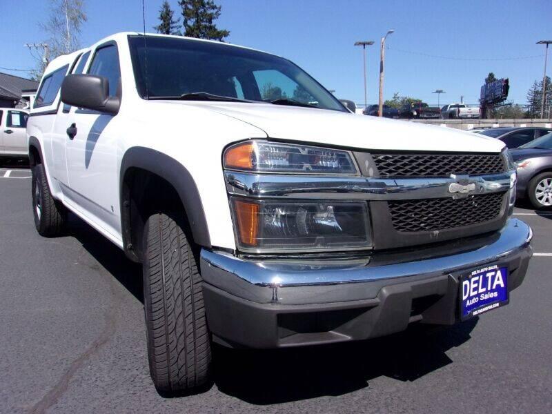 2007 Chevrolet Colorado for sale at Delta Auto Sales in Milwaukie OR