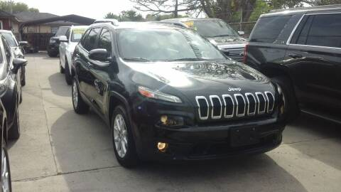 2014 Jeep Cherokee for sale at Express AutoPlex in Brownsville TX