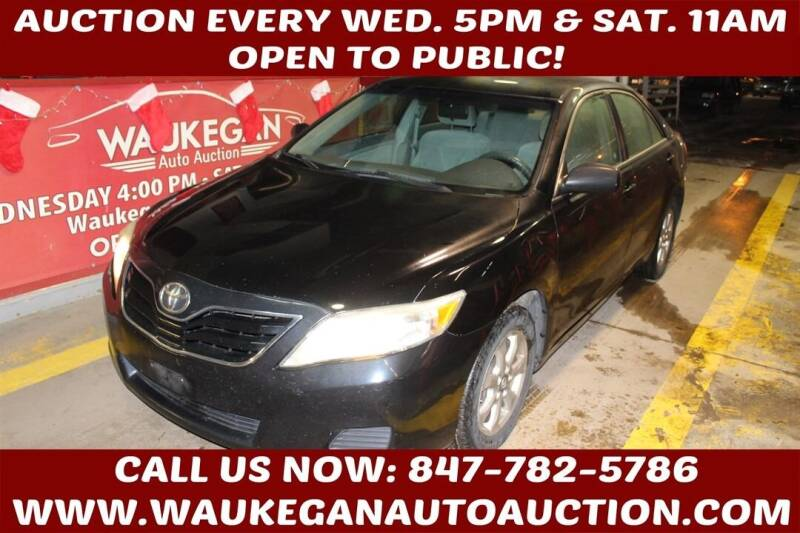 2011 Toyota Camry for sale at Waukegan Auto Auction in Waukegan IL