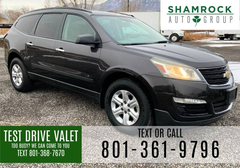 2015 Chevrolet Traverse for sale at Shamrock Group LLC #1 in Pleasant Grove UT