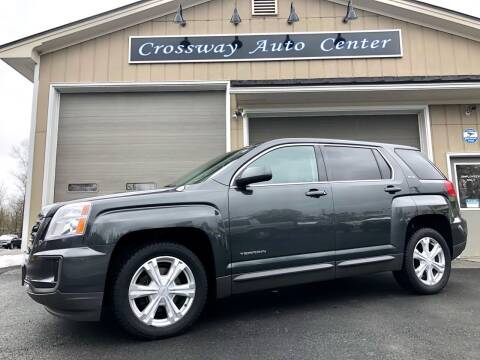 2017 GMC Terrain for sale at CROSSWAY AUTO CENTER in East Barre VT