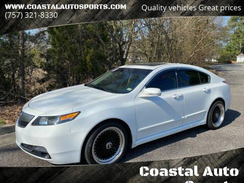 2014 Acura TL for sale at Coastal Auto Sports in Chesapeake VA